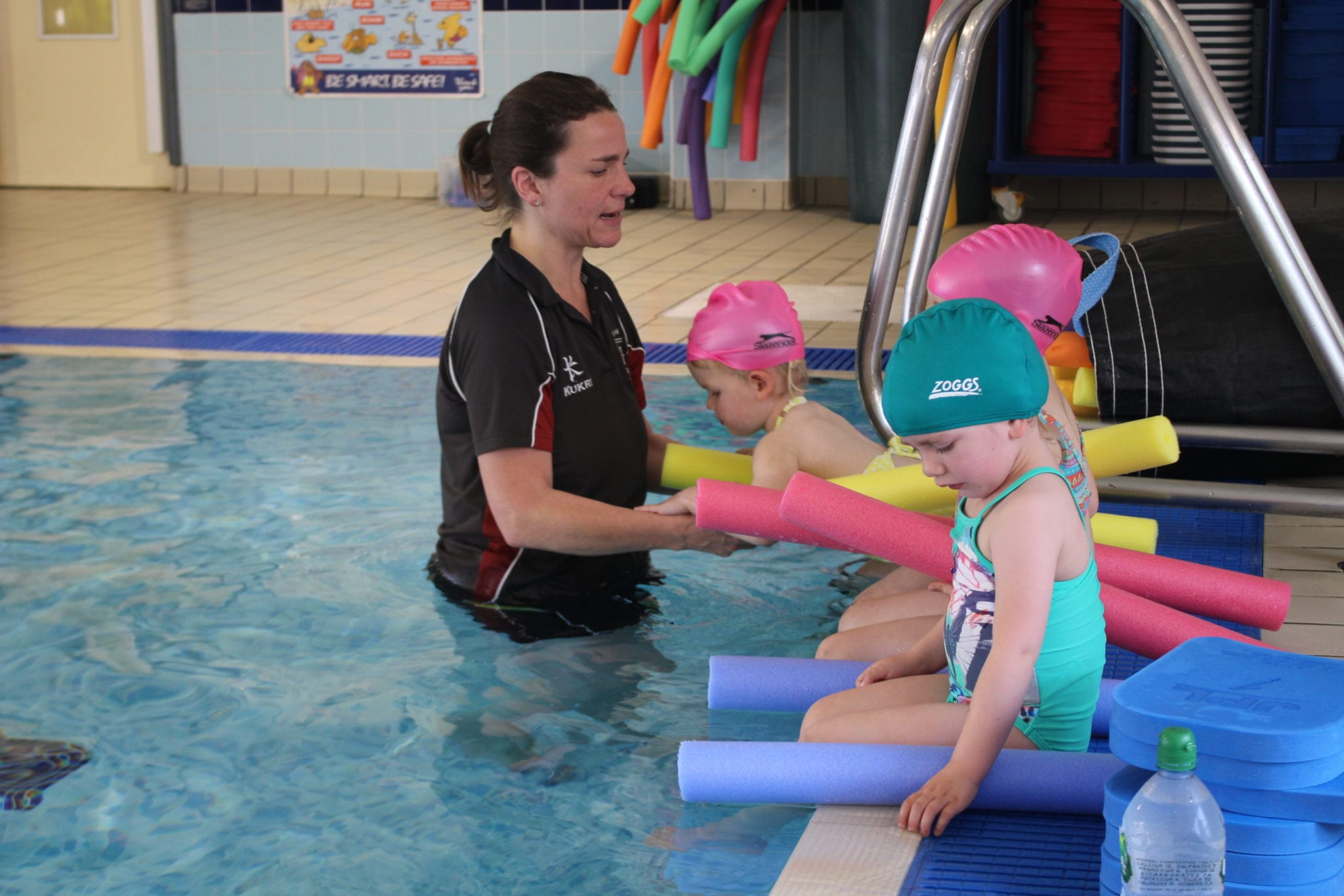 how to prepare for swimming lessons
